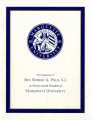 The Inauguration of Rev. Robert A. Wild, S.J., as Twenty-second President of Marquette University,...
