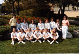 Women's volleyball team, 1982