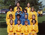 Women's cross-country team, 1981