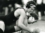 Bill Kumprey and opponent, 1989? - 1993?