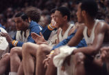 "Glenn ""Doc"" Rivers on the bench, 1980? -1983?"