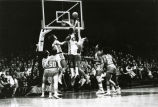 Earl Tatum at the rim, 1974