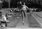 Clare Look-Jaeger long jumping, 1987