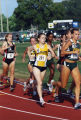 Brianna Dahm running the 1500 meters, 2001