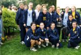 Marquette Women's National Catholic Cross Country Champions, 2001