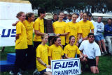 Marquette's Conference USA Championship Cross Country Team, 2000