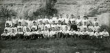 Marquette University football team at Lake Beulah, 1924-1925