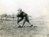 Marquette football player Edwin Niemi, 1937
