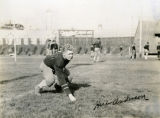 Marquette football player Herbert Anderson, circa 1937