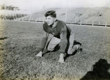 Marquette football player John (Jack) Lauterbach, circa 1937