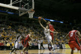 Travis Diener struggles for the ball against Louisville, 2004