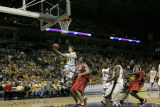 Travis Diener goes in for a lay up, 2004