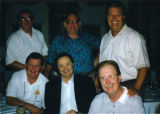 Al McGuire with Marquette alumni in Pinehurst, North Carolina, 1995