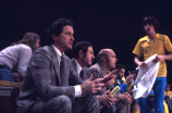 Al McGuire, Hank Raymonds, and Rick Majerus on the sidelines, 1973-1977