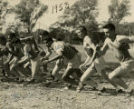 Marquette cross-country runners, 1953