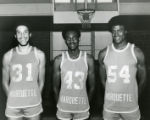 "Maurice ""Bo"" Ellis, Earl Tatum, and Jerome Whitehead, 1975"