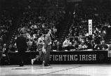 Al McGuire during University of Notre Dame game, 1974
