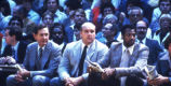 Hank Raymonds, Rick Majerus, and Rick Cobb on the sidelines, 1980-1983