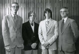 Keith Hanson, Pete Melms, Dave Uhrich, and Jim Allen, 1982