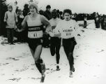 Keith Hanson in the lead during the NCAA cross-country Championships, 1985