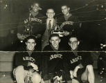 1952 cross-country champions with Coach Shimek