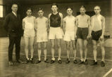Cross-country team, 1923