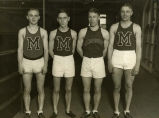 Two mile and four mile relay team, 1927