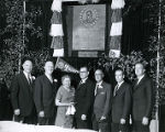 Family of Frank J. Murray at awards ceremony, 1959