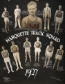 "Melvin ""Bus"" Shimek and the Marquette Track Squad, 1927"