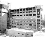 Schroeder Hall construction site, 1957