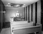 Schroeder Hall Chapel, view from the rear, 1958