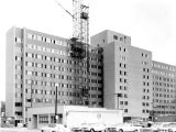 Schroeder Hall construction site, 1965