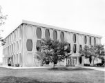 North facade, Lalumiere Language Hall, 1975