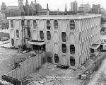Lalumiere Language Hall construction site as viewed from the west, 1969