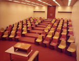 Vits Lecture Hall stands empty and waiting for students, 1972