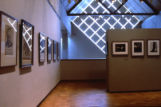 Gallery inside the Haggerty Museum