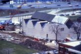 Haggerty Museum construction site, as seen from the northeast, 1984