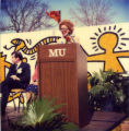 Haggerty Museum groundbreaking ceremony, 1983