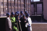Dignitaries at the groundbreaking for Helfaer Recreation Center, 1974