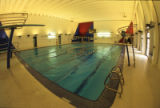 Swimming pool in the Helfaer Recreation Center