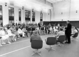 Dedication ceremonies for the Helfaer Recreation Center, 1975