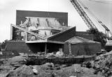 Helfaer Theatre construction site, 1973