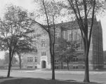 North facade of Sensenbrenner Hall, 1925?