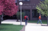 Main entrance of Coughlin Hall, 1986