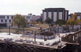 Coughlin Hall construction site, 1976