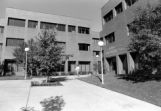 Coughlin Hall main entrance, 1984