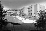 Coughlin Hall as viewed from the south, 1984