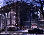 Wehr Chemistry Building construction site, 1965