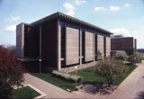 Wehr Physics Building as seen from the northwest, 1988