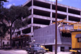 Life Sciences Building construction site, 1961
